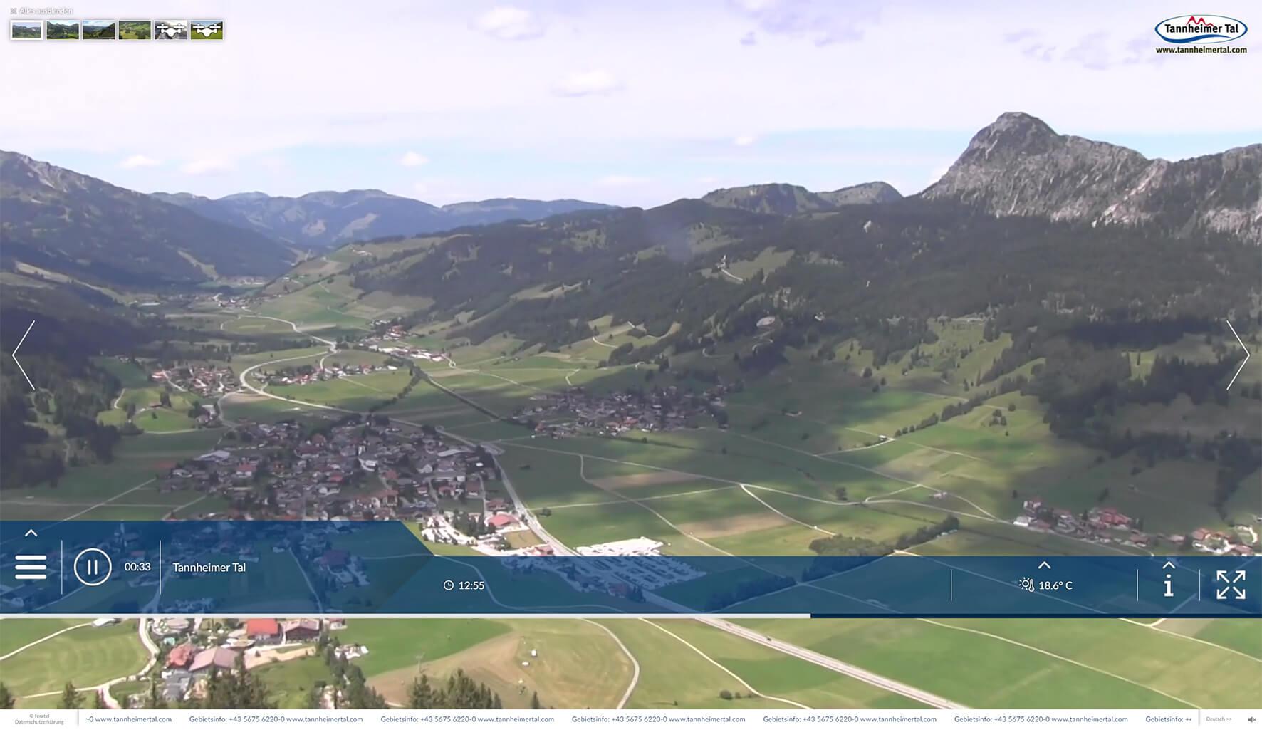 Live-Webcam Füssener Jöchle
